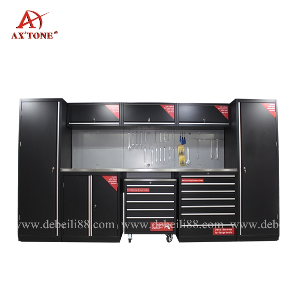 AX'TONE Metal Garage Storage Tool box Cabinet Of Auto Shop Tools